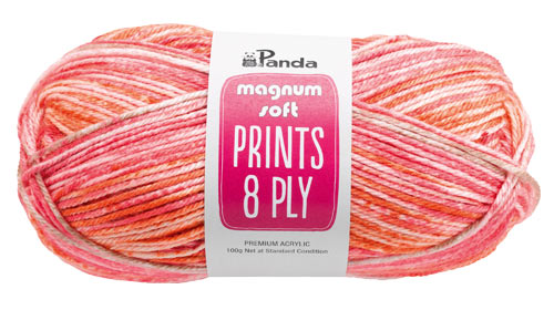 Panda Magnum Soft Prints 8 ply