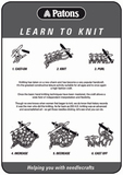 Learn to Knit - Leaflet