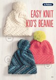 Patons Easy Knit Kids Beanie Leaflet