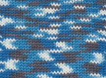 NEW - Mosaic Blue - Patonyle Merino Prints 4 ply
