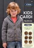 Kids Cardi with Bonus Buttons