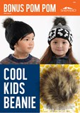 Cool Kids Beanie with Pom Poms