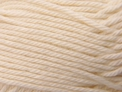 Cream - Cotton Blend 8ply